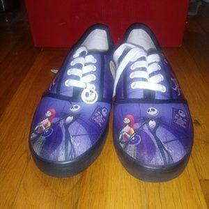 Shoes - Branford Exchange Nightmare Before Christmas Sneak